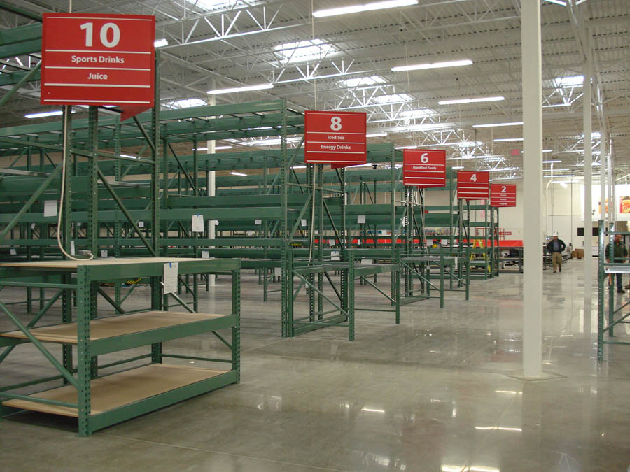 BJ's Warehouse Racking