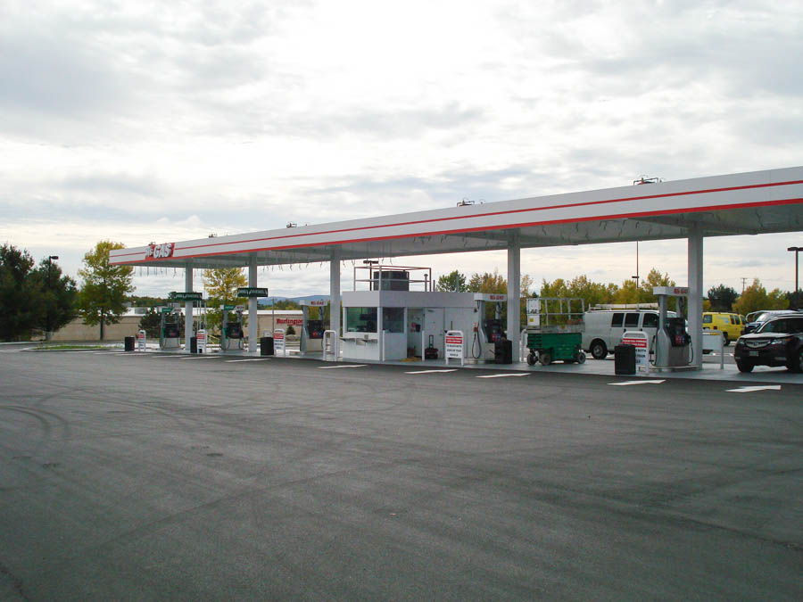 BJ's Gas Station - Bangor, ME, Newly constructed by NPC&M