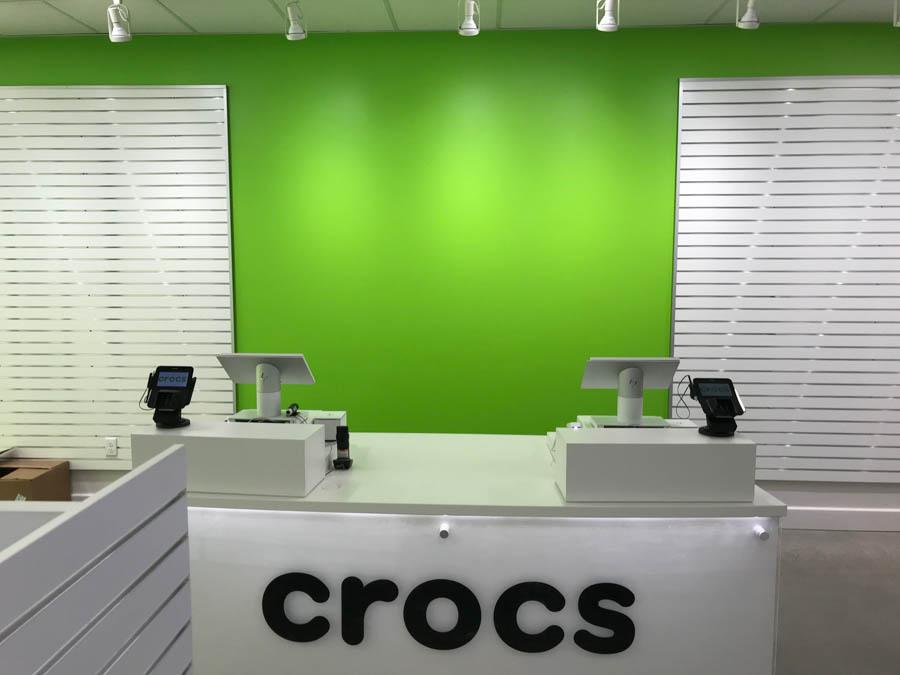 Crocs Store Register